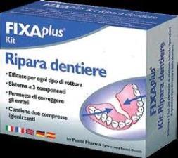 FIXAPLUS RIPARA DENTIERE KIT