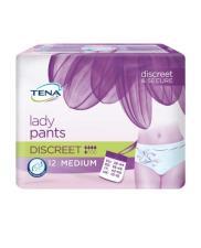 TENA® LADY PANTS DISCREET INCONTINENZA LEGGERA TAGLIA M 12 PEZZI