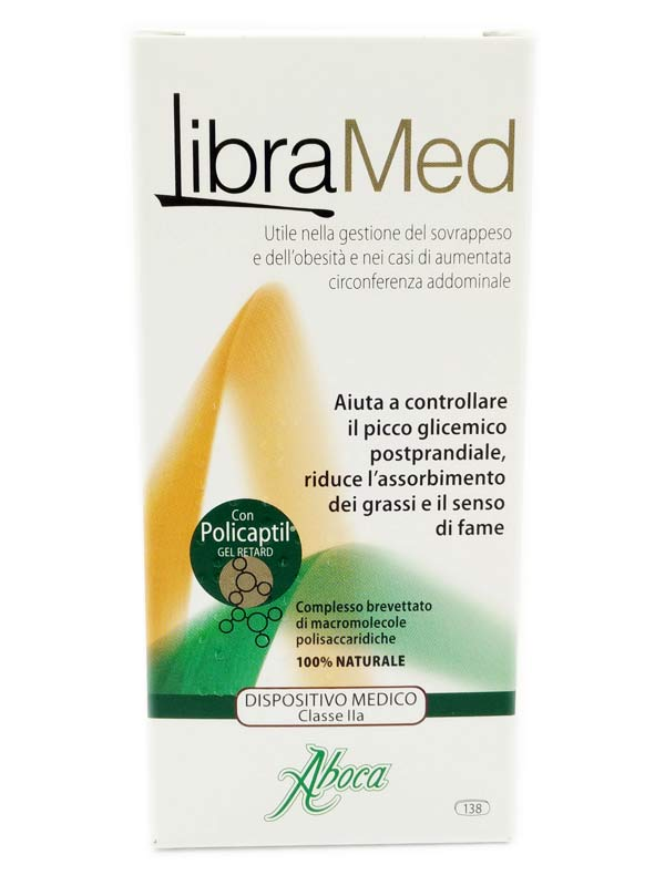 ABOCA LIBRAMED 138 COMPRESSE DA 725 MG