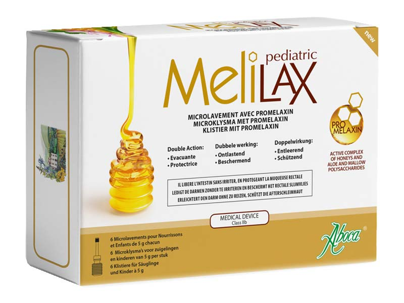 ABOCA MELILAX PEDIATRIC 6 MICROCLISMI DA 5 G