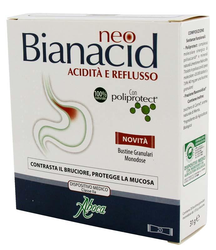 ABOCA NEO BIANACID 20 BUSTINE GRANULARI MONODOSE