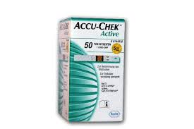 ACCU CHEK ACTIVE PLASMA 50 STRISCE REATTIVE