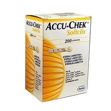 ACCU CHEK SOFTCLIX LANCETTE PER LA MISURAZIONE DELLA GLICEMIA - 200 LANCETTE
