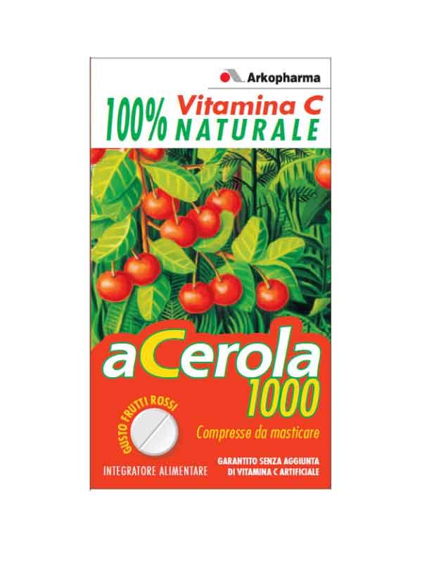 ACEROLA 1000 MASTICABILE ARKOCAPSULE 60 COMPRESSE