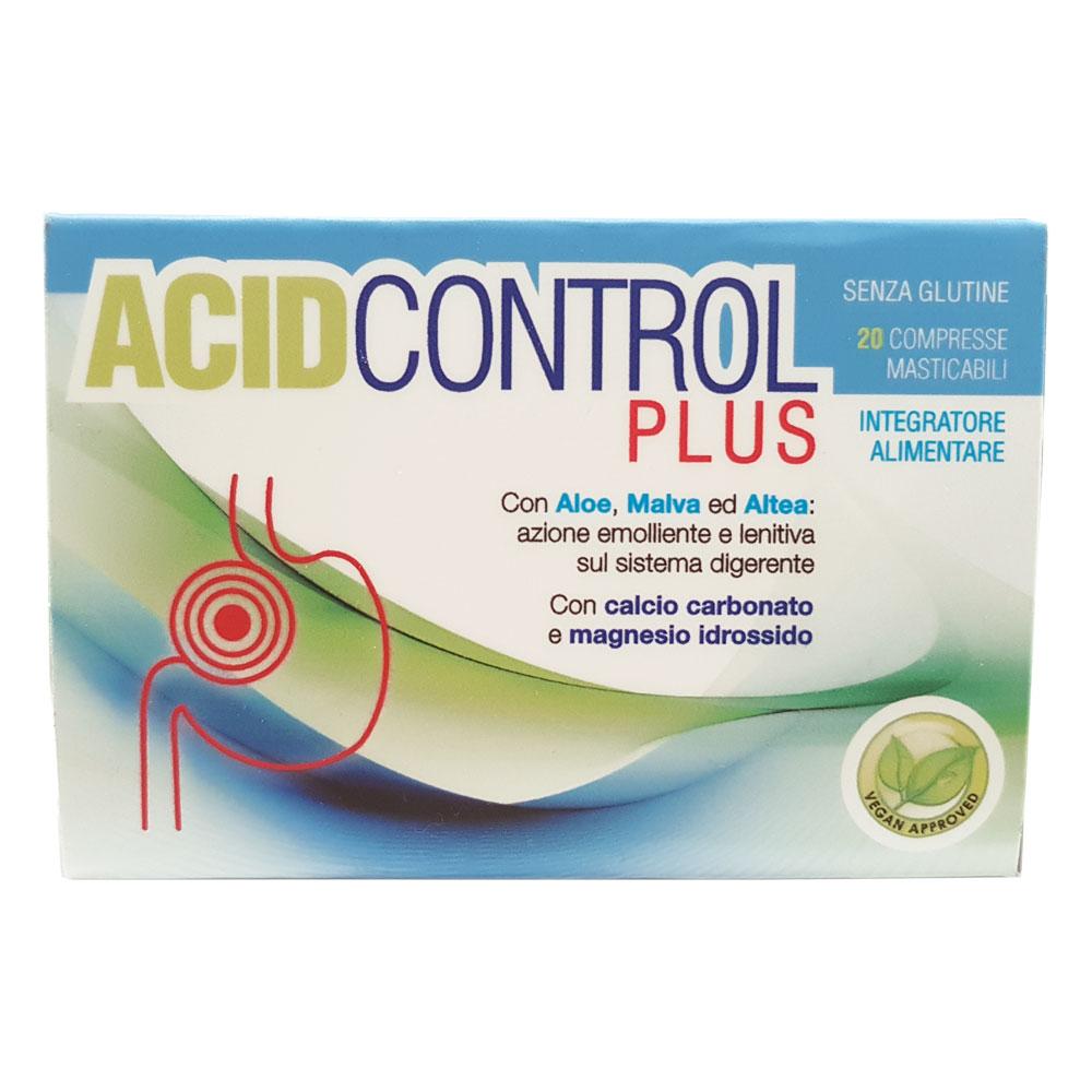 ACID CONTROL PLUS NATURPHARMA 20 COMPRESSE MASTICABILI
