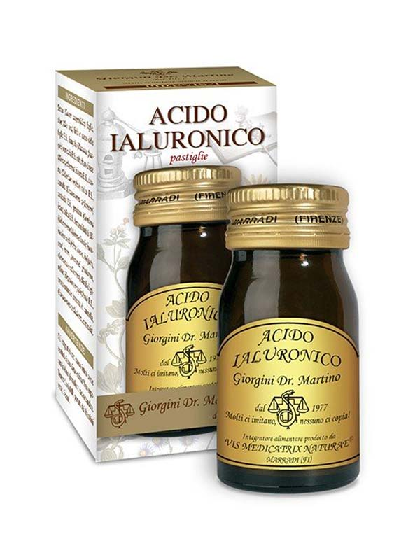 ACIDO IALURONICO 60 PASTIGLIE DA 500 MG