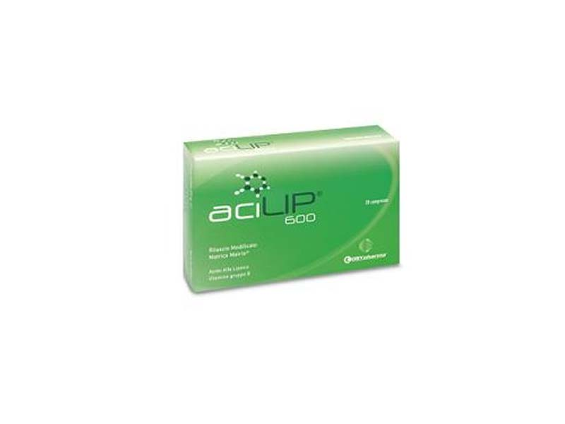 ACILIP 600 20 COMPRESSE DA 1100 MG