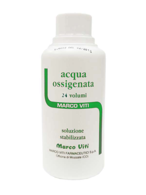 ACQUA OSSIGENATA 24 VOL MARCO VITI 100 ML