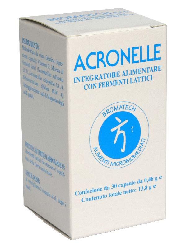 ACRONELLE INTEGRATORE BROMATECH 30 CAPSULE