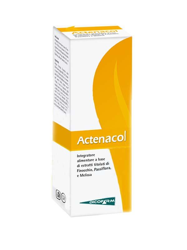 ACTENACOL SCIROPPO 60 ML