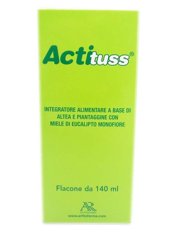 ACTITUSS SCIROPPO PER TOSSE SECCA 140 ML