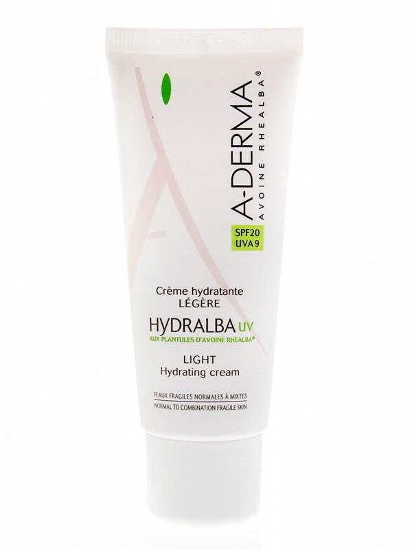A-DERMA® HYDRALBA UV CREMA LEGGERA SPF20 40 ML