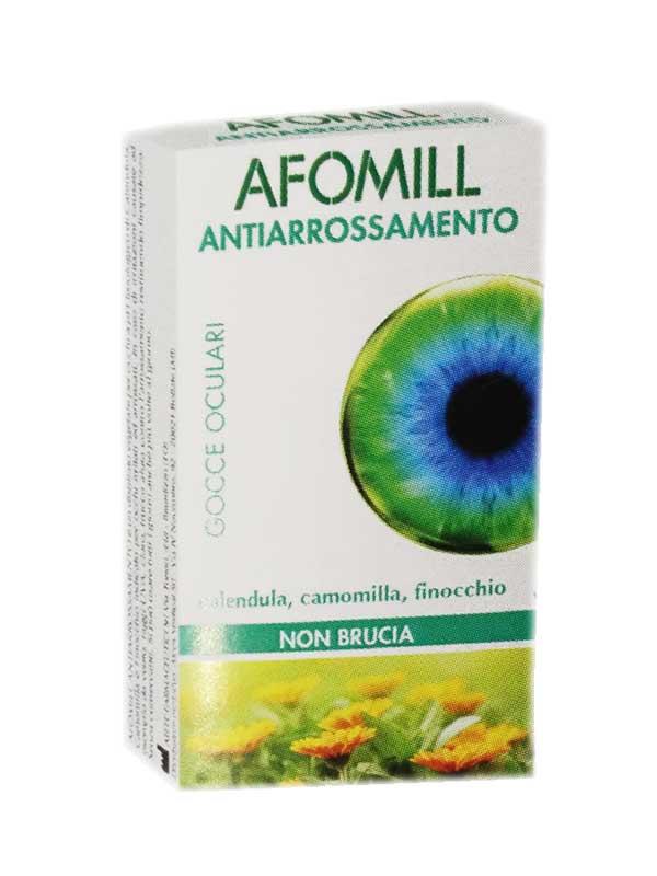 AFOMILL ANTIARROSSAMENTO GOCCE OCULARI - 10 MONODOSE DA 0,5 ML