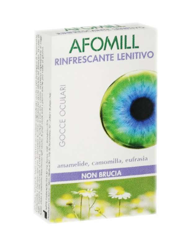 AFOMILL RINFRESCANTE LENITIVO GOCCE OCULARI - 10 MONODOSE DA 0,5 ML