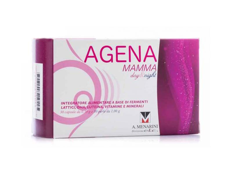 AGENA MAMMA DAY AND NIGHT 30 CAPSULE + 30 PERLE