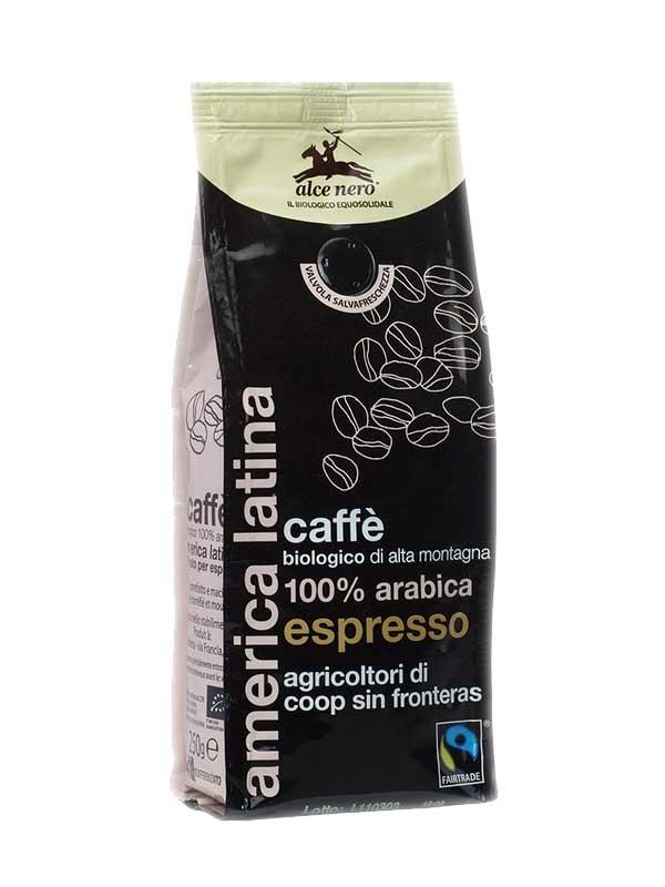 ALCE NERO CAFFE' 100% ARABICA ESPRESSO BIOLOGICO - 250 G