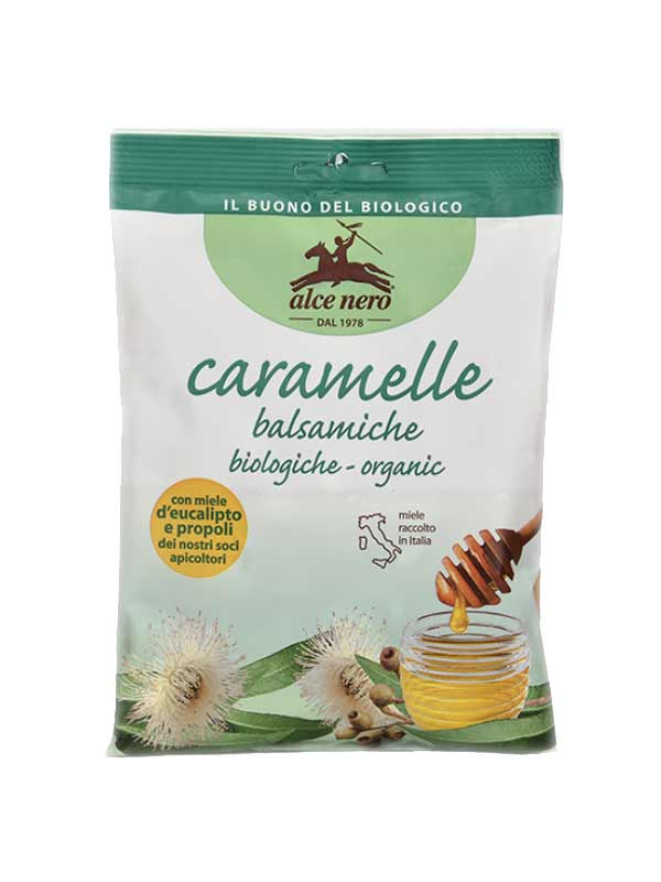 ALCE NERO CARAMELLE BALSAMICHE BIOLOGICHE - 100 G