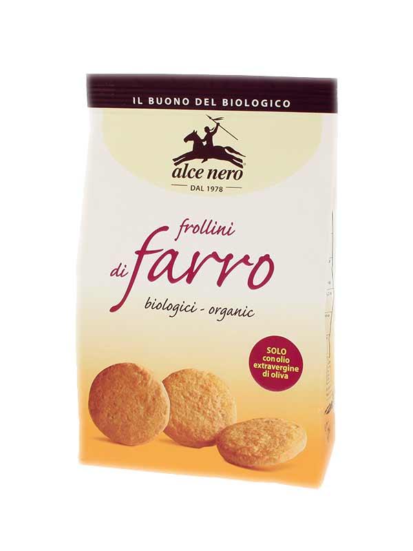 ALCE NERO FROLLINI DI FARRO BIOLOGICI - 300 G