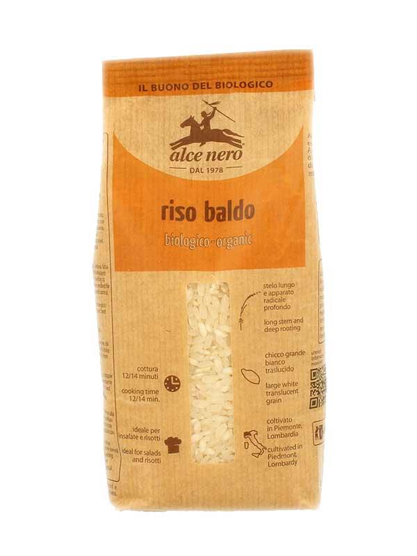 ALCE NERO RISO BALDO BIOLOGICO - 500 G