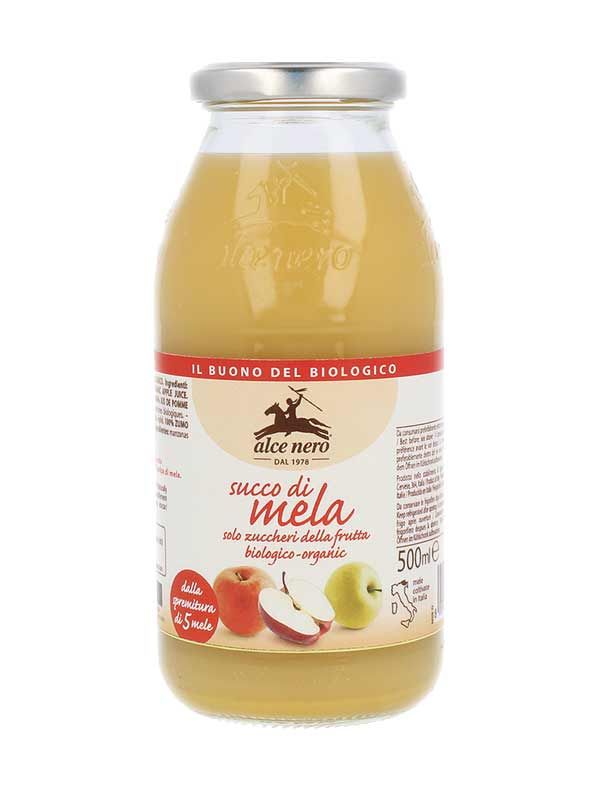 ALCE NERO SUCCO DI MELA 100% BIOLOGICO - 500 ML