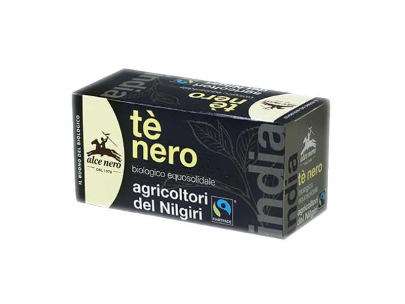 ALCE NERO TE' NERO BIOLOGICO - 20 FILTRI