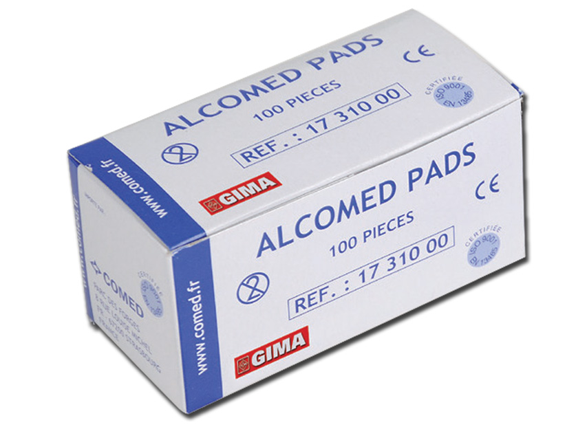 ALCOMED ALCOHOL PADS
