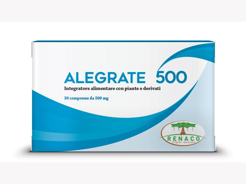 ALEGRATE 500 INTEGRATORE PER IL TONO DELL'UMORE - 30 COMPRESSE