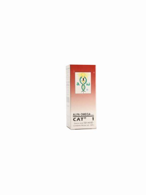 ALFA OMEGA CAT 1 GOCCE 50 ML