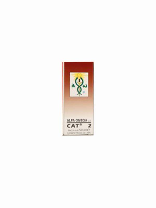 ALFA OMEGA CAT 2 GOCCE 50 ML