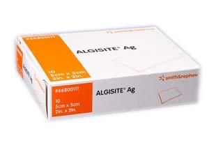 ALGISITE AG MEDICAZIONE STERILE IN FIBRE DI ALGINATO DI CALCIO - 10 PEZZI DA 5 x 5 CM