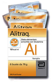 ALITRAQ INTEGRATORE UTILE IN CASO DI STRESS METABOLICO GUSTO VANIGLIA - 6 BUSTE DA 76 G