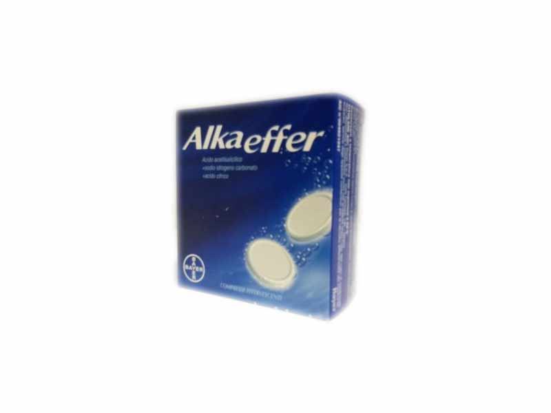 ALKAEFFER - 20 COMPRESSE EFFERVESCENTI