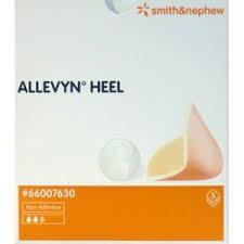 ALLEVYN HEEL MEDICAZIONE IN SCHIUMA DI POLIURETANO 10,5 x 13,5 CM - 5 PEZZI