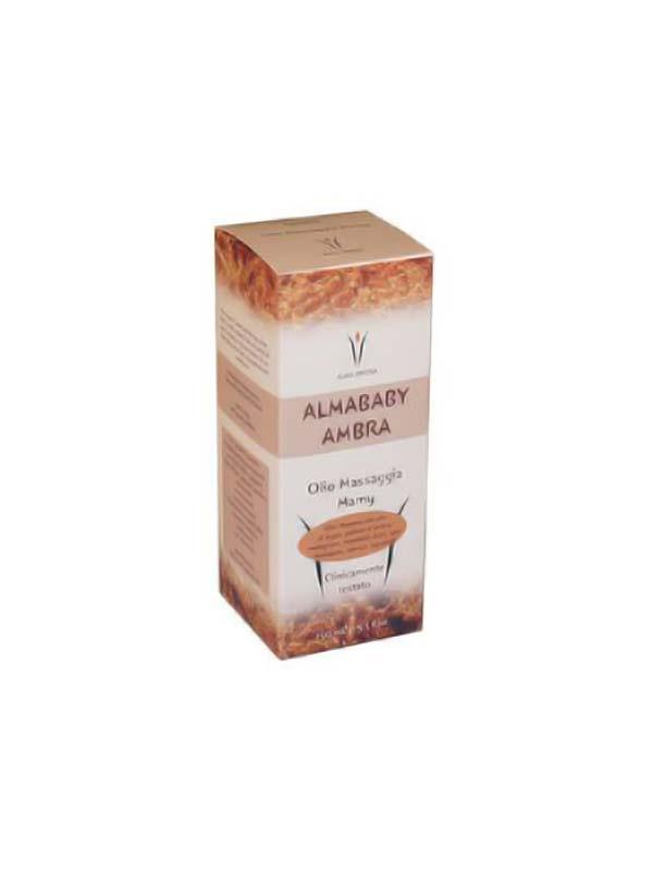 ALMABABY AMBRA OLIO MASSAGGIA MAMY 150 ML