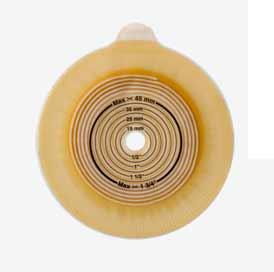 ALTERNA MIO PLACCA CONVEX LIGHT PRETAGLIATO - DIMENSIONI FORO 21 MM - DIAMETRO FLANGIA 40 MM - 5 PEZZI