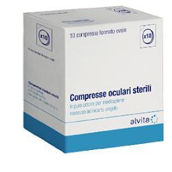 ALVITA COMPRESSA OCULARE STERILE - 10 PEZZI