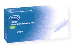 ALVITA SIRINGA 0,5 ML AGO G30 - ASTUCCIO DA 30 PEZZI