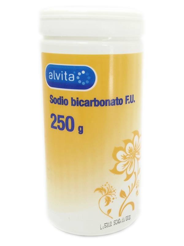 ALVITA SODIO BICARBONATO FU BARATTOLO 250 G