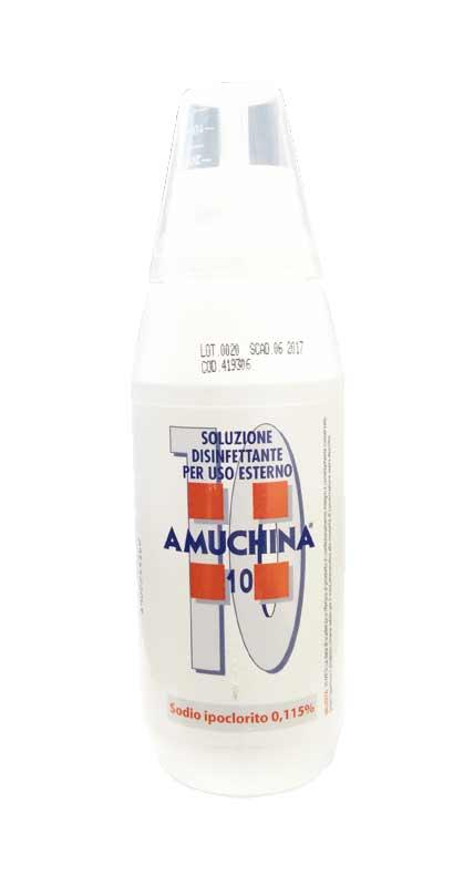 AMUCHINA 10 - SOLUZIONE DISINFETTANTE PER USO ESTERNO - 500 ML
