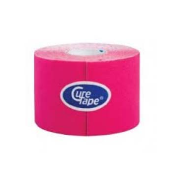 ANEID CURE TAPE CEROTTO PER TAPING - COLORE ROSA - 5 CM x 5 M