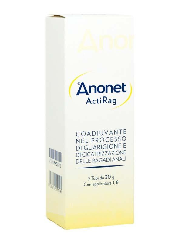 ANONET ACTIRAG CREMA 2x30 G