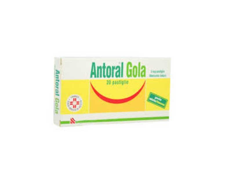 ANTORAL GOLA 5MG GUSTO MIELE E LIMONE - 20 PASTIGLIE