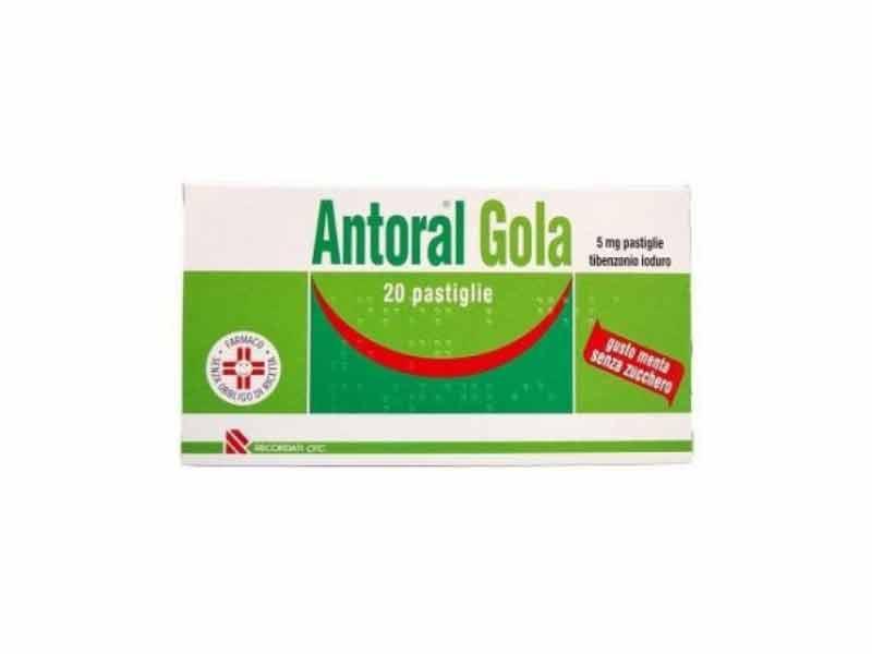 ANTORAL GOLA 5MG SENZA ZUCCHERO 20 PASTIGLIE