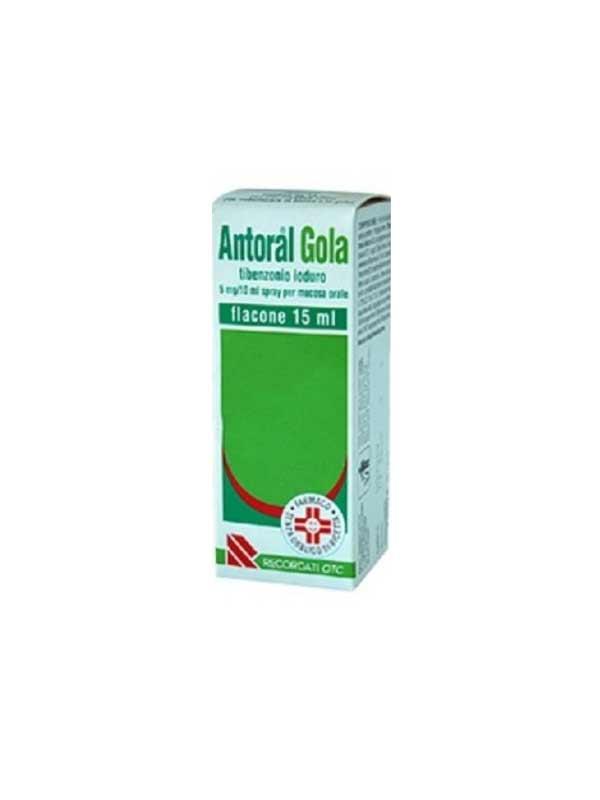 ANTORAL GOLA SPRAY - 15 ML