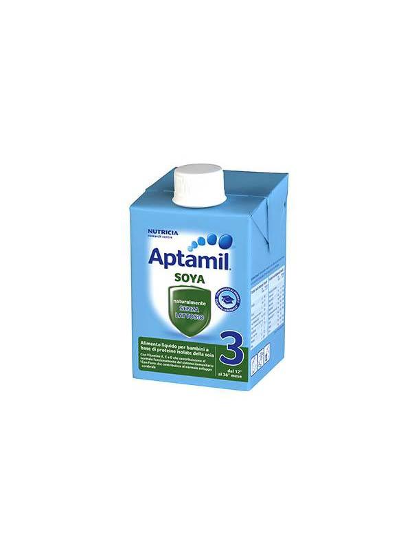 APTAMIL 3 LATTE CRESCITA SOYA 500 ML