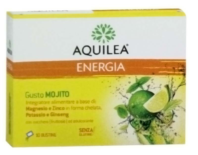 AQUILEA ENERGIA GUSTO MOJITO 10 BUSTINE