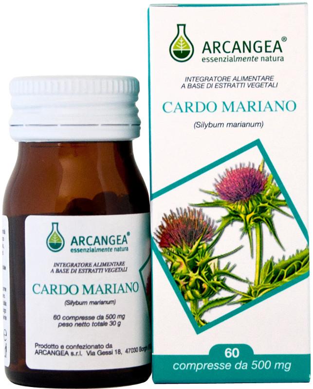 ARCANGEA CARDO MARIANO INTEGRATORE ALIMENTARE 60 CAPSULE DA 500 MG