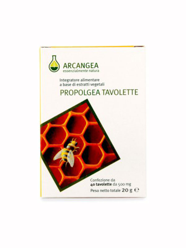 ARCANGEA PROPOLGEA INTEGRATORE ALIMENTARE 40 TAVOLETTE DA 500 MG