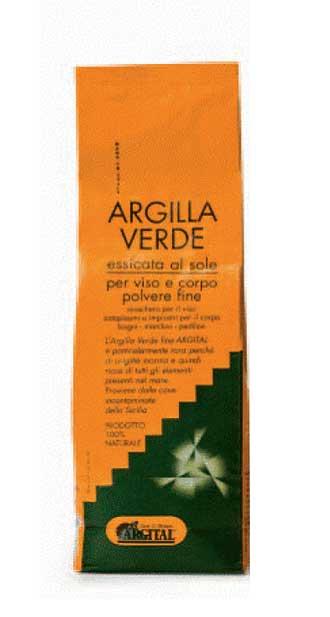 ARGITAL ARGILLA VERDE FINE ESSICCATA AL SOLE - 1000 G