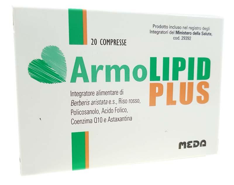 ARMOLIPID PLUS 20 COMPRESSE